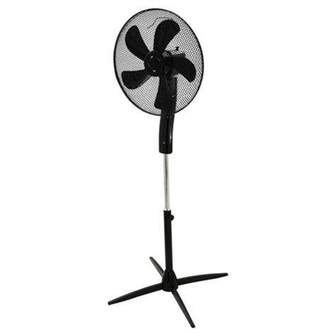 buy pedestal fan with remote buy tesco 16 quot pedestal fan with remote 3 speed black