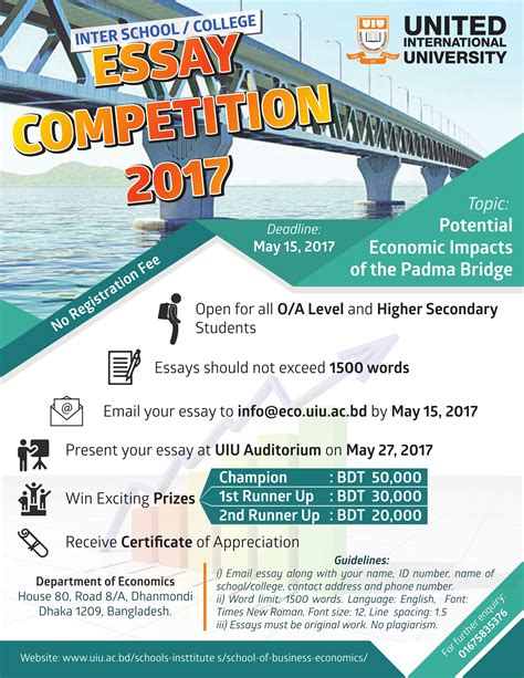 essay contest for 9th graders