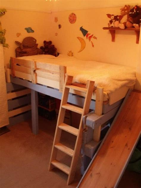 diy repurposed furniture stroovi salvaged bed for toddlers made with repurposed pallets