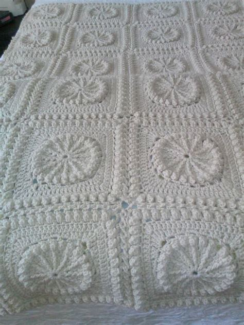 De 25 Bedste Id 233 Er Inden For Crochet Bedspread Pattern P 229