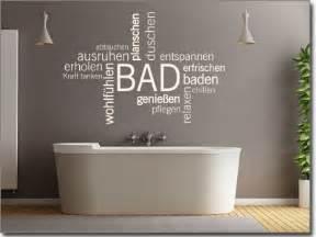wandsticker badezimmer wandtattoo worte und begriffe zum thema entspannung