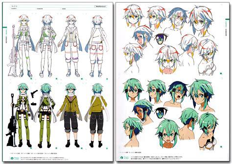 sword art online design works official art book anime books