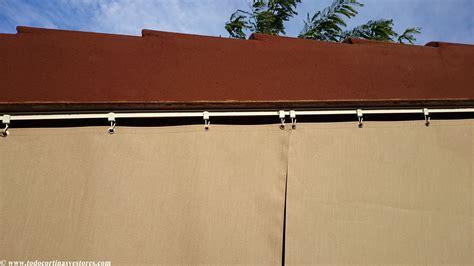 cortinas lona para exterior cortinas de lona el de decoraci 243 n interior