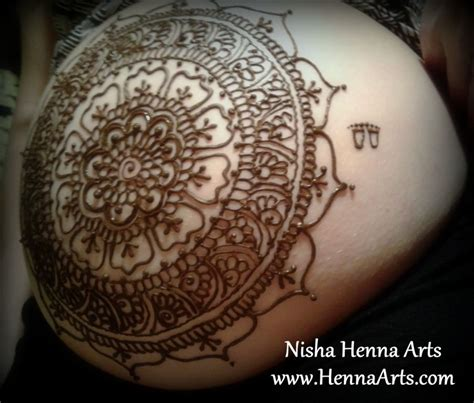 henna tattoo on pregnant belly henna body art for baby