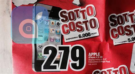 mediaworld pavia iphone 4 in offerta a 279 fino ad esaurimento scorte