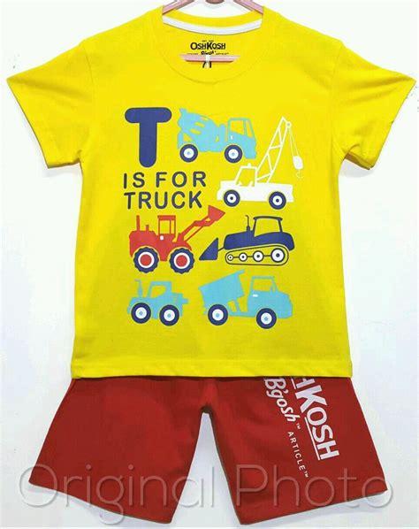 Grosir Kaos Anak Karakter Motif Pooh Kuning 1 6 setelan oshkosh truck kuning 1 6 oshkosh grosir eceran