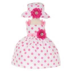 Cinderella couture baby girls pink polka dot party dress sold out