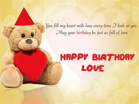 happy birthday quotes for lover with images gf birthday wishes for and quotes for