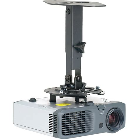 ceiling mounted projector mustang mt projspv2 projector ceiling mount mt projspv2 b h