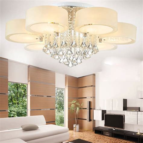 2017059757 en h je cuisine light modern 60 70 90cm crystal led chandeliers ceiling lights