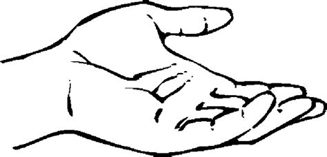 left hand coloring pages