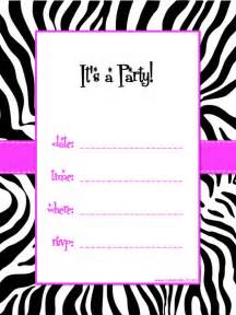 free printable birthday invitations theruntime
