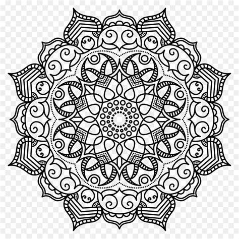 mandala coloring book mandala coloring book meditation pattern mandala png