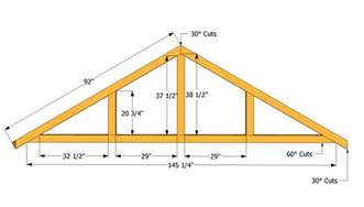 building a house plans how to build a roof for a 12x16 shed howtospecialist