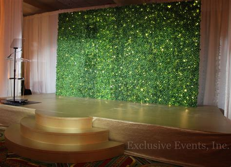 exclusive  staging backdrops  dance floors