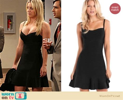 The Big Theory Wardrobe by Penny S Black Dress On The Big Theory Details