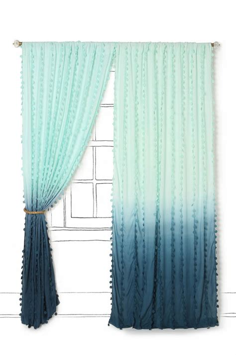 ombre curtain panels 1000 ideas about dip dye curtains on pinterest tie dye