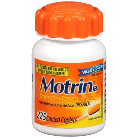 Obat Ibuprofen 200 Mg motrin ib ibuprofen tablets usp 200 mg coated caplets