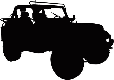 jeep silhouette the gallery for gt jeep road silhouette
