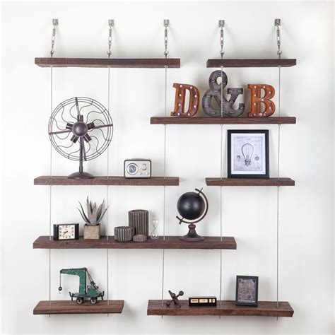 Suspended Shelf by 1000 Images About Home Shelves Wall Display On Outfitters Coat Hooks And