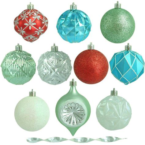 martha stewart white christmas ornaments martha stewart living 3 in morning shatter resistant ornament 75 count h358 the