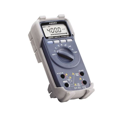 Multimeter Digital Hioki hioki 3803 digital multimeter multifunktions testere