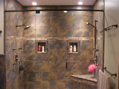 2 In Shower 52 best images about walk in showers on