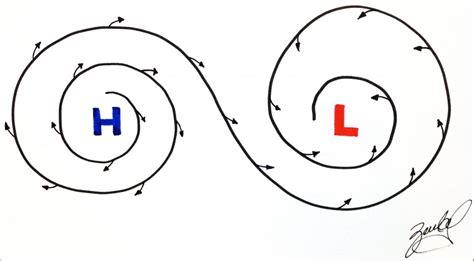 lade alta e bassa pressione bassa pressione navigare a nord e meglio