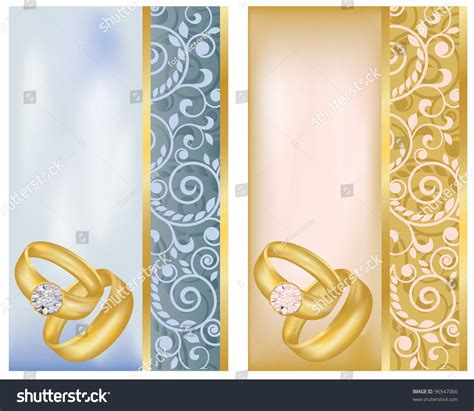 Wedding Banner Pics by Set Vertical Wedding Banners Vector Illustration Stock