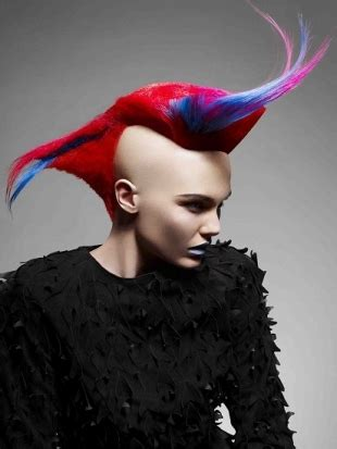 girl mohawk hairstyles trends  ideas