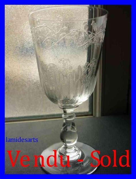 bicchieri cristallo baccarat bicchiere in cristallo baccarat mughetto stock 0