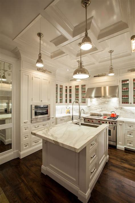 White Kitchen Cabinets With White Marble Countertops the renovated home white kitchen cabinets white marble