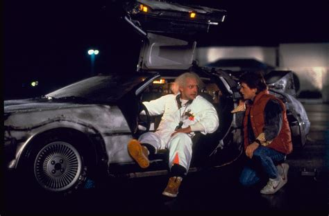 what year is the delorean from back to the future time travelling delorean and back to the future 30