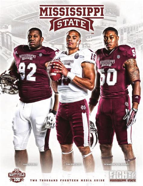 Mississippi State Records 2014 Mississippi State Football Media Guide