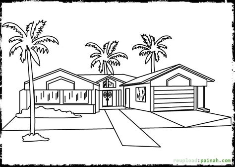 village house coloring pages luxury house coloring pages for kids coloring pages