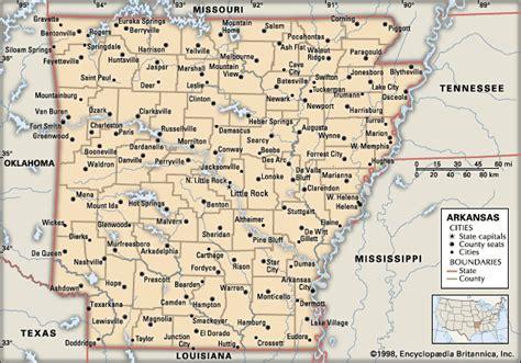 arkansas map with cities arkansas cities encyclopedia children s