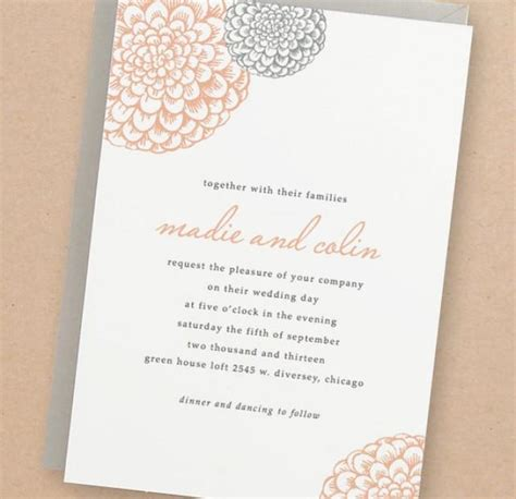 free diy wedding invites templates invitation printable wedding invitation template