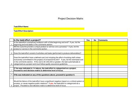 design certificate quu decision matrix template beepmunk