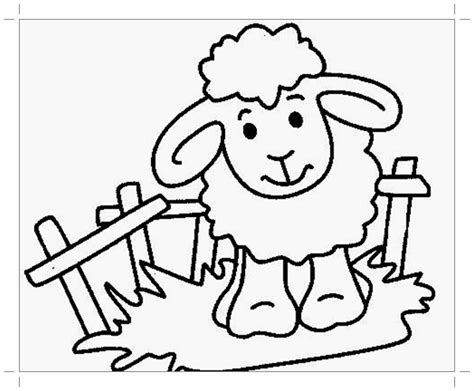 coloring page year of the sheep sheep coloring pages to print year of sheep 2015