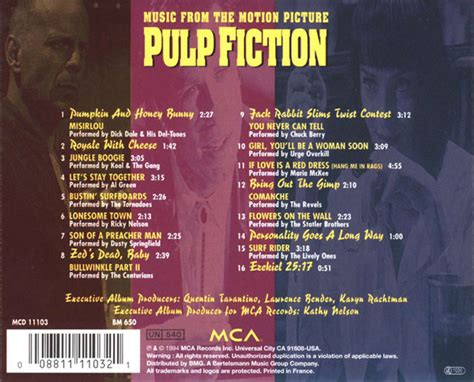 pulp fiction soundtrack pulp fiction soundtrack pictures