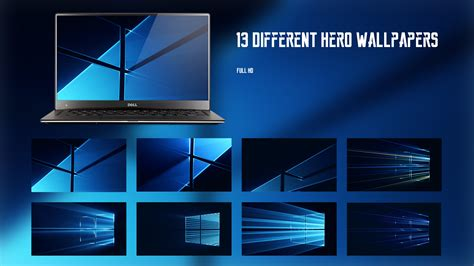 download windows 10 official hero wallpaper and login 13 different amazing hero wallpapers full hd by armend07