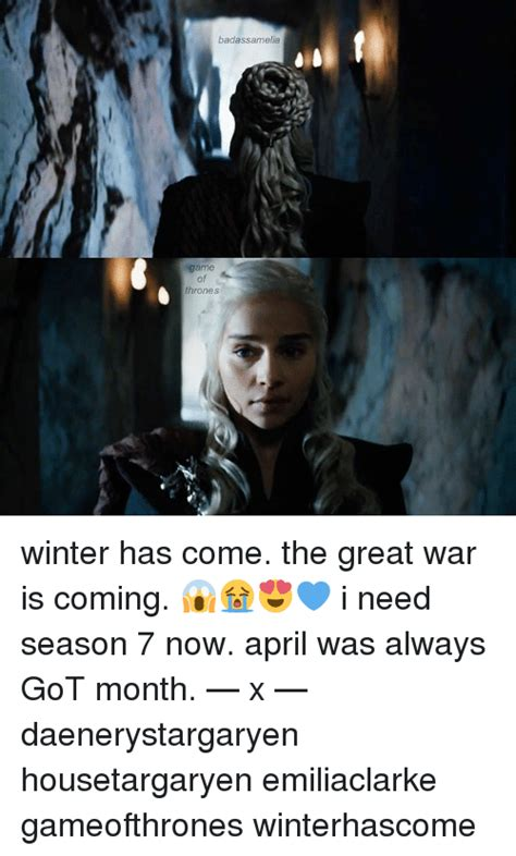game of thrones season 7 winter has come 4k wallpapers badassamelia game of thrones ese winter has come the great