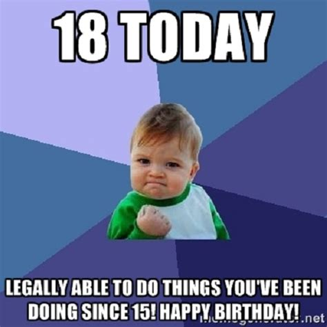 Adult Memes 18 - top hilarious unique happy birthday memes collection