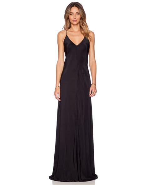 Amanda Maxi X amanda uprichard x back maxi dress in black lyst