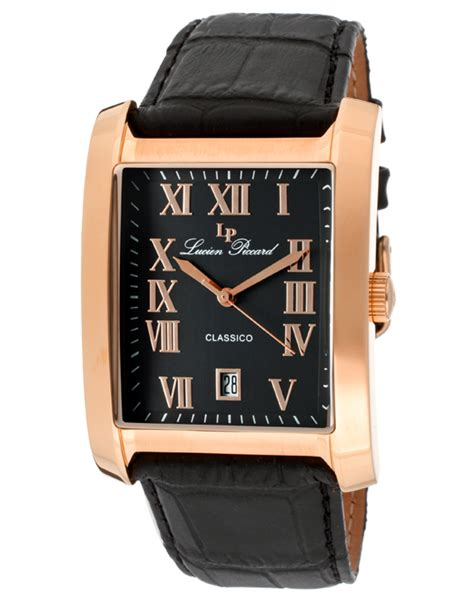 Swiss 8151 Black Rosegold List lucien piccard classico s watches