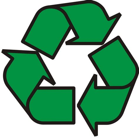 art of recycle picture of recycling symbol clipart best