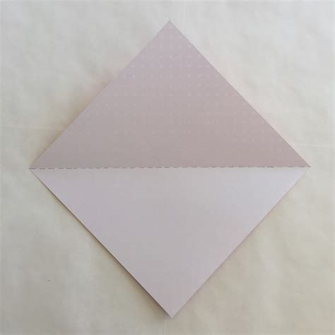 Paper Folding Triangle - origami easter bunny rabbit