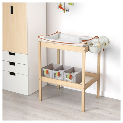 Baby Changing Tables Ikea Sniglar Changing Table Beech White 72x53 Cm Ikea