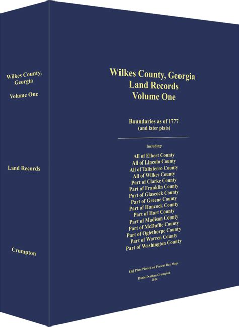 Wilkes County Records Historical Genealogical Land Record Books Of By Dan Crumpton