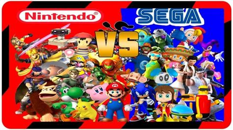 nintendo sega console 20 years later the console war rages on nintendo vs